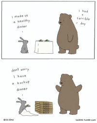 Earned It, Memes, and Rough: I made us  a healthy  dinner  dont worry  I have  a back up  dinner  liz climo  I had  terrible  da  lizclimo. tumblr com It's been a rough week. You've earned it ❤️🍕#nationalpizzaday