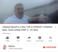 Beach, France, and Mail: I Mailed Myself in a Box *UK to FRANCE* (HUMAN-  MAIL CHALLENGE PART 2 - AT SEA)  6.9M views  138K  57K  Share  DownloadSave  Kill'em  2.5M subscribers  SUBSCRIBE The first wave of English troops arrive at Normandy Beach France, June 6, 1944