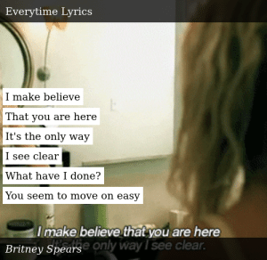 Britney Spears In The Zone Everytime