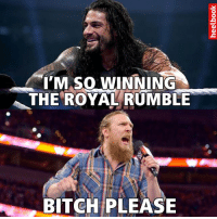 I MASO WINNING  THE ROYAL RUMBLE  BITCH PLEASE Let the discussion begin.