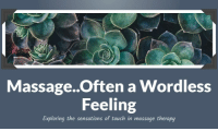 "Climbing, College, and Gym: i:  Massage..Often a Wordless  Feeling  Exploring the sensations of touch in massage therapy <p><a href=""http://lol-coaster.tumblr.com/post/155867124192/i-have-been-licensed-and-working-full-time-in-the"" class=""tumblr_blog"">lol-coaster</a>:</p>  <blockquote><p>  I have been licensed and working full time in the massage therapy field <b><i>since 2001, teaching and writing MT courses since 2006. My experience has led me through working with several different chiropractors, hotel and boutique spas, corporate massage, a climbing gym wellness center, private practice, two different massage schools, one acupuncture/massage college, and my current capacity of working with  physical therapy clinics and their patients. And the learning continues…</i></b>  <br/></p><p><a href=""https://larastillo.wordpress.com/about/"">https://larastillo.wordpress.com/about/</a><br/></p></blockquote>"