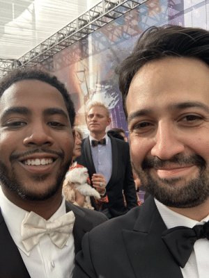 """Memes, School, and Work: I meet the brilliant @JharrelJerome, who looked SO familiar in @ava's heartbreaking work of art, @WhenTheySeeUs. He tells me, """"I don't know if you remember me, but you came to my high school performance of In The Heights, I played Usnavi.""""  ????????? ?????????????????? https://t.co/3KpxxfC4R6"""