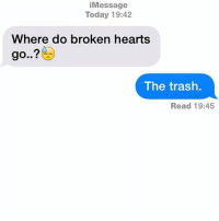 what to do with broken heart