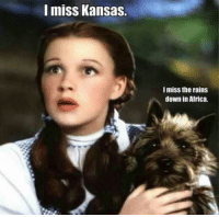Africa, Terrible Facebook, and Mom: I miss Kansas.  I miss the rains  down in Africa.