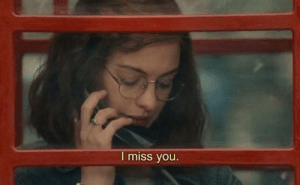 You, Miss, and I Miss You: I miss you.  w