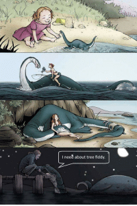 Loch Ness Monster: I need about tree fiddy Loch Ness Monster