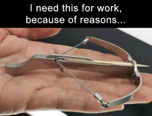 Memes, Work, and 🤖: I need this for work,  because of reasons... DV6