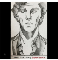 Memes, Sherlock Holmes, and Martin Freeman: I NEED TO GO To my MIND PALACE. A super cool drawing by @caticornarts - - - - - ben cumberbatch benedictcumberbatch martin freeman martinfreeman jim moriarty jimmoriarty andrew scott andrewscott mark gatiss markgatiss sherlock holmes sherlockholmes williamsherlockscottholmes john watson marywatson mollyhooper anderson lestrade sallydonovan (credit tagged)