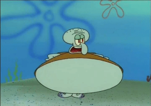 SpongeBob, Time, and Him: I paused spongebob at just the right time to see this absolute unit, I shall dub him Thiccward