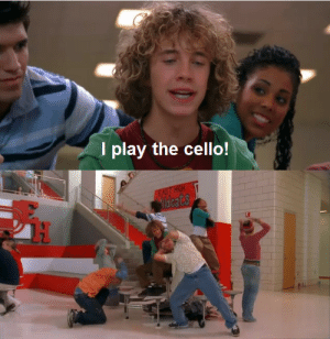 juliacaroled:  The biggest overreaction recorded in history.: I play the cello! juliacaroled:  The biggest overreaction recorded in history.