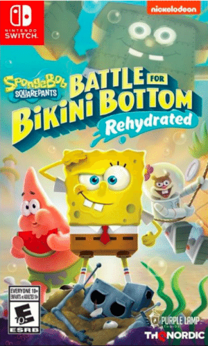 I played the older version of Battle of Bikini Bottom as a kid. when I saw new trailer I got so excited. I hope they dont change the classic music and anouncer voice lines. Also they should add another level to sand mountain, and they better keep the classic taxi for when you go to another area: I played the older version of Battle of Bikini Bottom as a kid. when I saw new trailer I got so excited. I hope they dont change the classic music and anouncer voice lines. Also they should add another level to sand mountain, and they better keep the classic taxi for when you go to another area