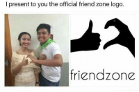Friendzone, Memes, and 🤖: I present to you the official friend zone logo.  friendzone