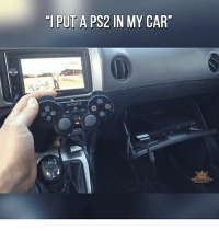"I need to do this! @gamingplus2 . . . gaming gamer games videogames cod gta csgo minecraft starwars marvel xbox playstation nintendo nerd geek leagueoflegends pc youtube lol fun funny letskillping dota2 game dccomics battlefield steam halo blizzard: I PUT A PS2 IN MY CAR""  SONY  GAMING I need to do this! @gamingplus2 . . . gaming gamer games videogames cod gta csgo minecraft starwars marvel xbox playstation nintendo nerd geek leagueoflegends pc youtube lol fun funny letskillping dota2 game dccomics battlefield steam halo blizzard"