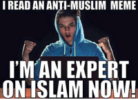 Don't Judge #Islam by Acts of a Few! Never let corporate media bran wash you! http://www.loonwatch.com/2010/01/not-all-terrorists-are-muslims/: I READ AN ANTI-MUSLIM MEME  IMAN EXPERT  ON ISLAM NOW! Don't Judge #Islam by Acts of a Few! Never let corporate media bran wash you! http://www.loonwatch.com/2010/01/not-all-terrorists-are-muslims/
