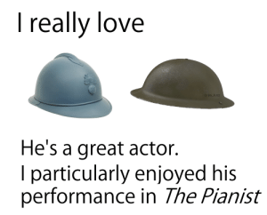 Truly a breathtaking performance: I really love  U/JAY FUZZ  He's a great actor.  I particularly enjoyed his  performance in The Pianist Truly a breathtaking performance
