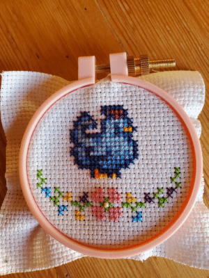 I recently got into crossstitching, this is my favorite project so far!: I recently got into crossstitching, this is my favorite project so far!