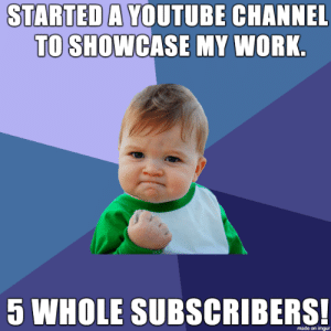I recently started uploading content.: I recently started uploading content.