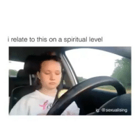 Memes, Videos, and 🤖: i relate to this on a spiritual level  ig: @sexualising Follow me (@Crelube) for more videos like this ❤️ Tears - Tag a Friend👇🏽 Crelube spiritual
