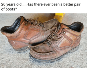 I remember rocking a pair of these or Timberland boots back in my school years.: I remember rocking a pair of these or Timberland boots back in my school years.