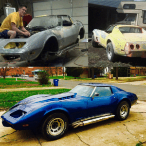 I restored a 1977 Corvette with my Dad over the last few years: I restored a 1977 Corvette with my Dad over the last few years