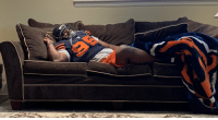 Low Key, Memes, and The Game: I sang, I danced, I jumped, I kicked, I yelled!!  I'm sore right now!!  You would think I played in the game (I wanted too low key frfr.) But, look how I slept...  #BearDown https://t.co/z1RY04yRpE