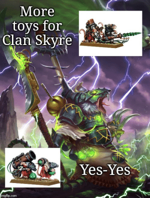 I saw a meme about not enuff Skaven memes in this sub, he's an older one i made back when TWW2 S&B DLC was out: I saw a meme about not enuff Skaven memes in this sub, he's an older one i made back when TWW2 S&B DLC was out