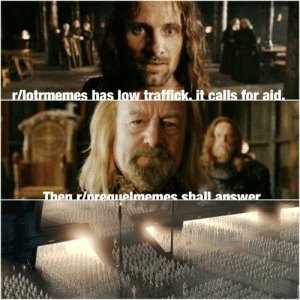 I saw this on prequelmemes.Now I joined lotr memes: I saw this on prequelmemes.Now I joined lotr memes