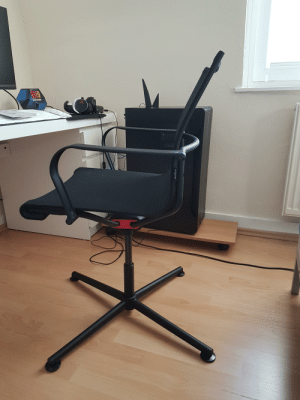 """I see all these """"Racing/Gaming"""" Chairs, THIS is a real chair!: I see all these """"Racing/Gaming"""" Chairs, THIS is a real chair!"""
