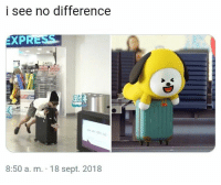 #JIMIN 🐾: i see no difference  EXP  8:50 a. m. 18 sept. 2018 #JIMIN 🐾
