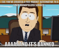 """Tumblr, Airbnb, and Blog: I SEE YOU'VE CREATED A FREE MARKET ALTERNATIVE TO A  STATE MONOPOLIZED SERVICE  AAAAAANDITS BANNED <p><a href=""""http://anarchyandacupofcoffee.tumblr.com/post/157276432002/see-also-santa-monica-evicts-airbnb-the-war-on"""" class=""""tumblr_blog"""">anarchyandacupofcoffee</a>:</p><blockquote><p>See also:  <a href=""""http://reason.com/reasontv/2017/02/08/airbnb-vs-the-world-the-battle-for-the-r"""">Santa Monica Evicts Airbnb: The War on Homesharing  </a></p></blockquote>"""
