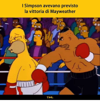"Friends, Mayweather, and Memes: I Simpson avevano previsto  la vittoria di Mayweather  .C  TML ""Why can't we be friends?"" 🎤 tmlplanet boxe simpson homer vittoria mayweather mcgregor mcgregorvsmayweather"