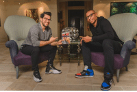 Juice, Memes, and Nba: I sit with Author and former NBA player Caron Butler and talk about his new book Tuff Juice.