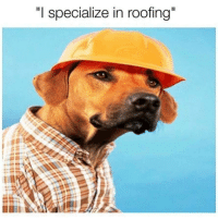 I Specialize In Roofing