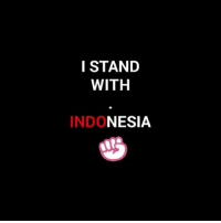 Fall, God, and Love: I STAND  WITH  INDONESIA You guys just makes me fall in love with you... 😅😇 But please for god sake don't force me to things. I will do what I can to help you...😊