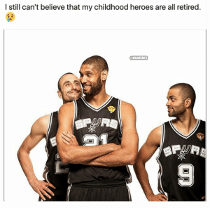This big 3 was legendary 😮 https://t.co/j9Ghhsrjgn: I still can't believe that my childhood heroes are all retired.  @NBAMEMES  SP  SPRS This big 3 was legendary 😮 https://t.co/j9Ghhsrjgn
