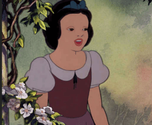 I still cant stop laughing at this damn picture of snow white without her make up.: I still cant stop laughing at this damn picture of snow white without her make up.