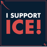 Americans must support the brave men and women that keep our country safe from terrorists and criminals that want to enter our country. SHARE if you support ICE!: I SUPPORT  ICE! Americans must support the brave men and women that keep our country safe from terrorists and criminals that want to enter our country. SHARE if you support ICE!