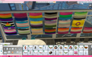 The Sims, Search, and Sims: i  The SimsM 4  LOT NAME  11  Search  Filter Items..  +976  Decorations  S74,148  3:17 PM The Sims 4 got updated today and they added some pride stuff right? I only expected three, maybe four different flag designs max, this is wild, i didn't even recognize some of them at first.