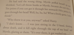I think all of us here can agree that Moaning Myrtle is the most relatable Harry Potter character: I think all of us here can agree that Moaning Myrtle is the most relatable Harry Potter character