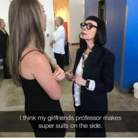 "Memes, Suits, and Doubt: I think my girlfriends professor makes  super suits on the side. <p>Without a doubt via /r/memes <a href=""https://ift.tt/2mGScFj"">https://ift.tt/2mGScFj</a></p>"