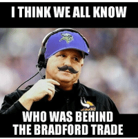I THINK WE ALL KNOW  WHO WAS BEHIND  THE BRADFORD TRADE 😳😳 this Sam Bradford trade shocked me. Comment your thoughts on it 🤔🤔