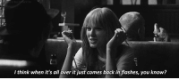 http://iglovequotes.net/: I think when it's all over it just comes back in flashes, you know? http://iglovequotes.net/