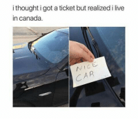 I Live In Canada