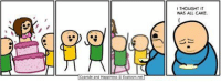 """Omg, Tumblr, and Blog: I THOUGHT IT  WAS ALL CAKE  Cyanide and Hoppiness Explosm.net <p><a href=""""https://omg-images.tumblr.com/post/165877865337/now-im-gonna-starve"""" class=""""tumblr_blog"""">omg-images</a>:</p>  <blockquote><p>Now I'm gonna starve</p></blockquote>"""