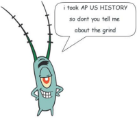 History, Us History, and You: i took AP US HISTORY  so dont you tell me  about the grind