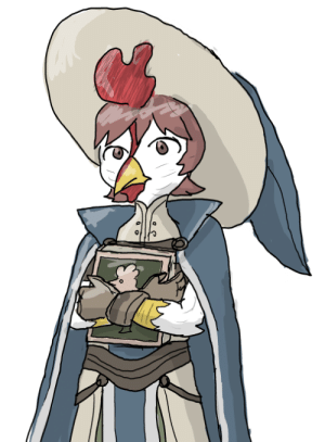I turned myself into a chicken, Miriel: I turned myself into a chicken, Miriel