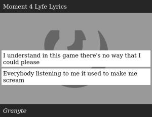 SIZZLE: I understand in this game there's no way that I could please Everybody listening to me it used to make me scream