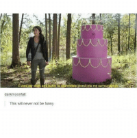 Funny, God, and The Hunger Games: I used my skills asa baker to seamlessly blend into my surrounding  darkmoonfall  This will never not be funny Omg I remember this hunger games parody and I loved it. Have you guys seen it? Follow me ( @god.of.appleysauce )for more funny tumblr and textpost