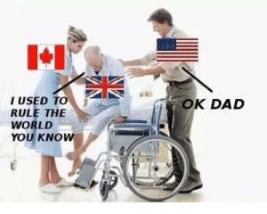 Dad, World, and The World: I USED To  RULE THE  WORLD  YOU KNOw  OK DAD OK dad (i.redd.it)