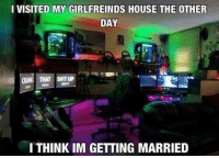 Fifa, Memes, and PlayStation: I VISITED MY GIRLFREINDS HOUSE THE OTHER  DAY  CRANE THAT SAITUP  ITHINKIM GETTING MARRIED Co-op would be amazing!😍 🔸Leave a like for more 👍 🔸Go to the link in my bio and install the app👊 🔸👉YouTube:NinjAhmad 👈 🔸👉Personal:@notninjahmad 🔸Add me on steam! 👇 🔸Steam-ID: NinjAhmad ツ | 忍者アフマド 🔸Tell your buddies about this horrible page✊ 💊Tags💊(IGNORE): picoftheday fallout funny meme instagood photooftheday like4like gta cod pc xbox xbox360 xboxone xbox1 playstation ps3 ps4 assassinscreed fifa love skyrim callofduty bo2 bo3 blackops pc follow overwatch counterstrike csgo valve